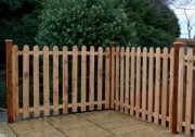 Palisad-fence