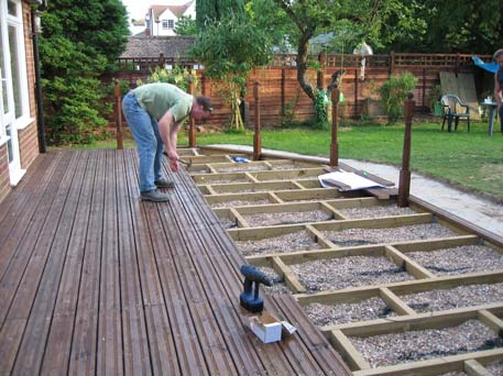 Large selection of decking in stock